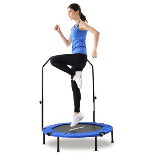 """372031DEDF MERAX 40 """"składana mini trampolina-niebieski"""