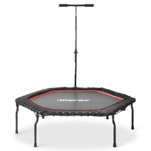 372024DEDF Merax 50 '' Składana trampolina fitness do domu - czerwona
