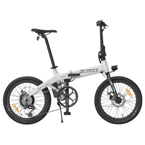"""370442PLSW Składany rower elektryczny Himo Z20, koła 20"""", silnik 250 W – Biały"""