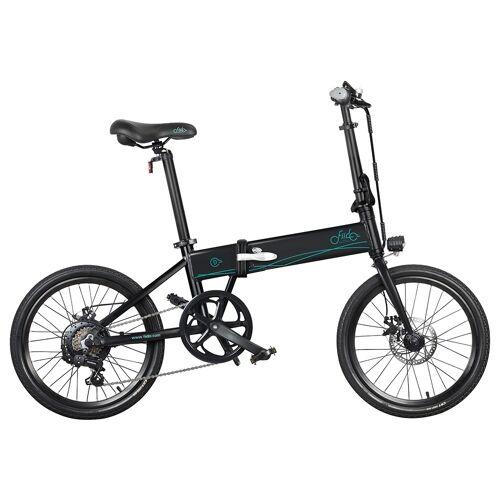 """372038PLDF Składany rower elektryczny Fiido D4S, 20"""", 250 W – Czarny"""