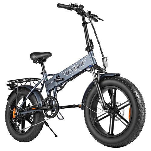 """371109PLDF ENGWE EP-2 500W 20 """"składany rower elektryczny - szary"""