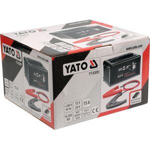 Yato Prostownik elektroniczny 12/24v 15a z funkcją wspomagania rozruchu YT-83051 YATO