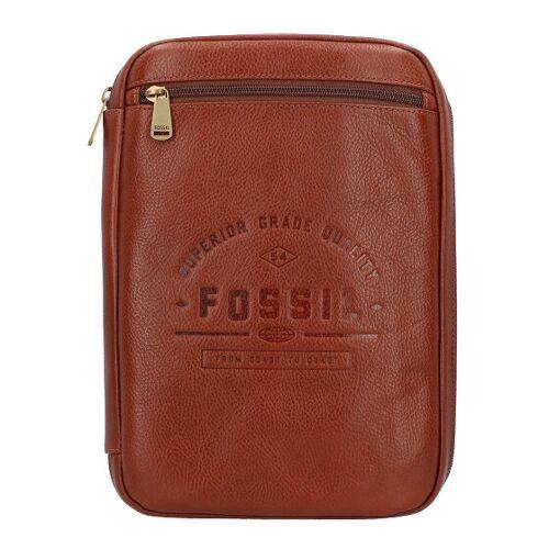 Fossil Tech Torebka do przechowywania skórzana 21 cm tan  - brąz - Damy,Unisex - Dorośli,Mężczyźni