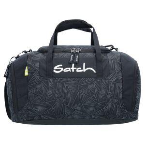 Satch Duffle Bag Torba sportowa 44 cm schwarz reflektierende dreiecklinien ninja bermuda  - szary - Damy,Mężczyźni,Unisex - Dorośli