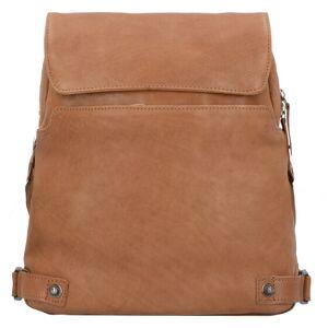 Harold's Pull Up Plecak składany skórzany 38 cm camel