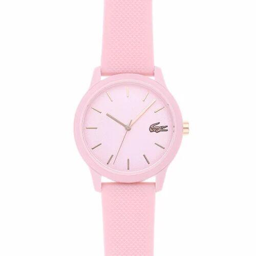 Lacoste .12.12 Zegarek kwarcowy ze plastikowy rosa  - różowy - Damy