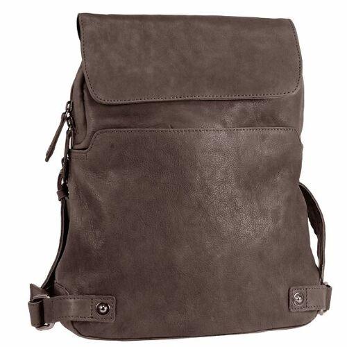 Harold's Pull Up Plecak składany skórzany 38 cm braun  - brąz - Mężczyźni,Unisex - Dorośli,Damy