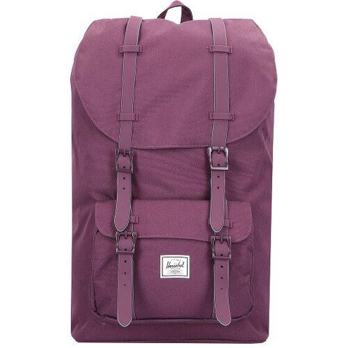 Herschel Little America Plecak 50 cm przegroda na laptopa blackberry wine  - liliowy - Unisex - Dorośli,Mężczyźni,Damy