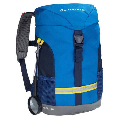 Vaude Pecki 10 Plecak przedszkolny 34 cm blue  - niebieski - Unisex - Dzieci