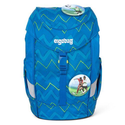 Ergobag Mini Plus Plecak przedszkolny 30 cm libäro 2:0 zickzack blau grün  - niebieski - Unisex - Dzieci