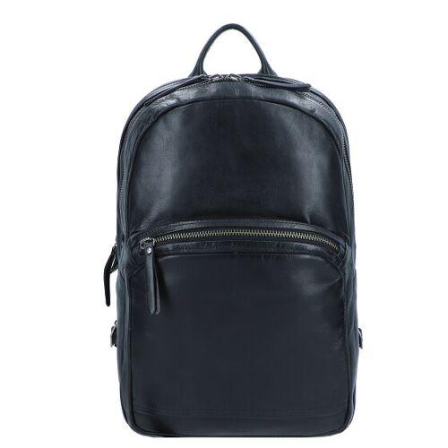 Aunts & Uncles Soundcheck Subwoofer Business Plecak skórzana 41 cm przegroda na laptopa black  - czarny - Damy,Mężczyźni,Unisex - Dorośli
