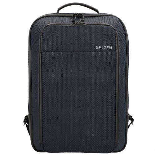 Salzen biznesowy Backpack Plecak biznesowy skórzany 43 cm knight blue  - niebieski - Mężczyźni,Unisex - Dorośli,Damy