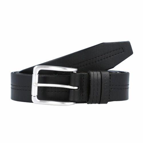 Marc O' Polo Belt black 95 cm  - czarny - Mężczyźni