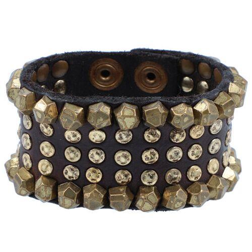 Campomaggi Armband skórzana 20 cm brown  - brąz - Damy