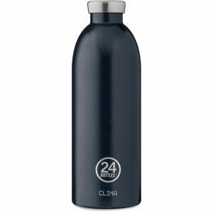24Bottles Rover Clima Butelka 850 ml rustic deep blue  - niebieski - Unisex - Dorośli,Mężczyźni,Damy