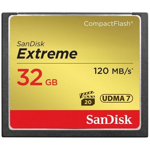 SanDisk Karta pamięci SanDisk Extreme Compact Flash 32 GB UDMA 7 (120 MB/s)