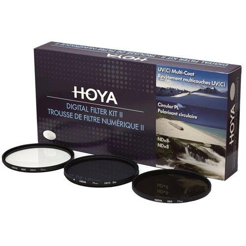 Hoya Zestaw 3 filtrów Hoya Digital Filter Kit II 77mm