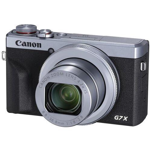 Canon Aparat Canon PowerShot G7X Mark III Srebrny + voucher na akcesoria 100zł za każ. wyd. 1000zł