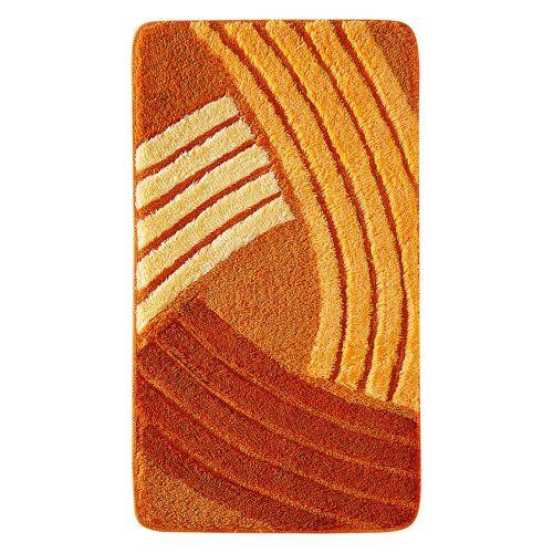 bonprix Dywaniki łazienkowe w graficzny wzór bonprix pomarańczowy - Size: dywanik łazienkowy 50/90 cm;Dywanik łazienkowy 60/100 cm;dywanik łazienkowy 70/110 cm;dywanik łazienkowy 80/150 cm;Dywanik pod muszlę stojącą 45/50 cm;Dywanik pod muszlę wiszącą 45/