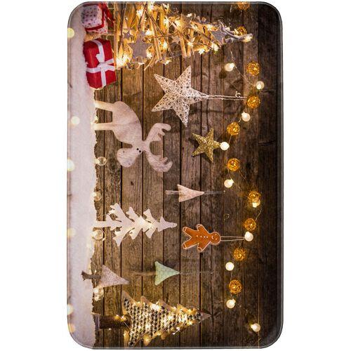bonprix Dywaniki łazienkowe z pianką memory bonprix brązowy - Size: dywanik łazienkowy 50/90 cm;dywanik łazienkowy 70/110 cm