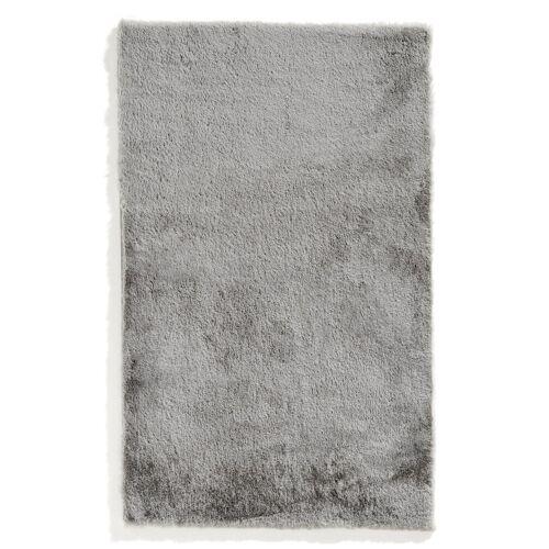 bonprix Dywaniki łazienkowe z miękkiego materiału bonprix srebrny - Size: Dywanik łazienkowy 70/110 cm;Dywanik łazienkowy 80/150 cm;Kompl. 3-częściowy (dywanik pod muszlę stojącą, dywanik 50/90 cm, pokrycie na klapę WC);Okrągły dywanik łazienkowy Ø 75 cm;