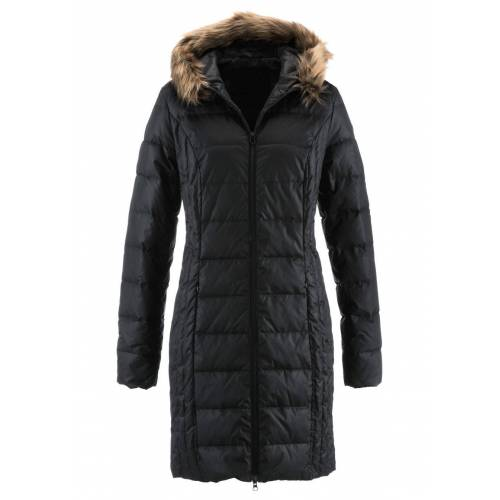 bonprix Lekki płaszcz puchowy pikowany bonprix czarny - Size: 38;40;42