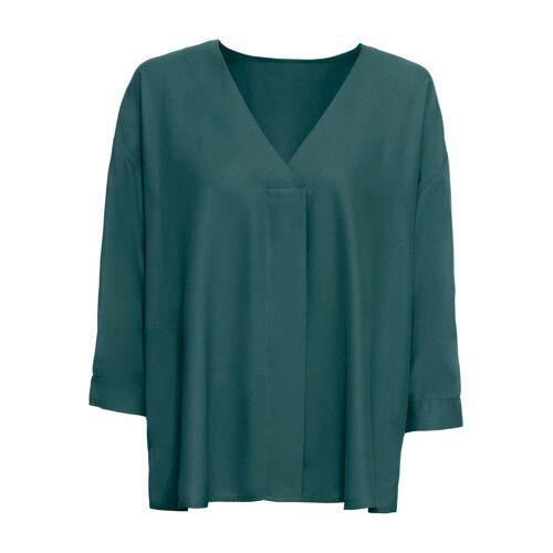 bonprix Bluzka tunikowa bonprix głęboki zielony - Size: 36;38;40;44;46;48;50;52;54