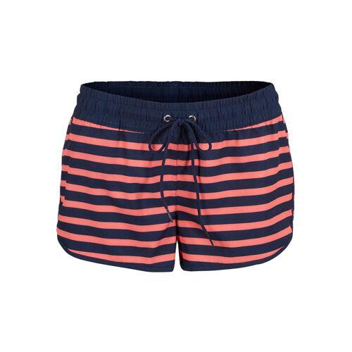 bonprix Szorty plażowe bonprix ciemnoniebiesko-różowy - Size: 40;42;44;46;48;50;52;54