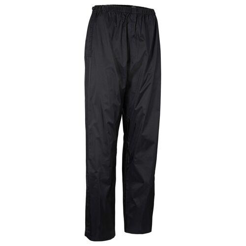 bonprix Spodnie przeciwdeszczowe, długie bonprix czarny z nadrukiem - Size: 38;40;42;44;46