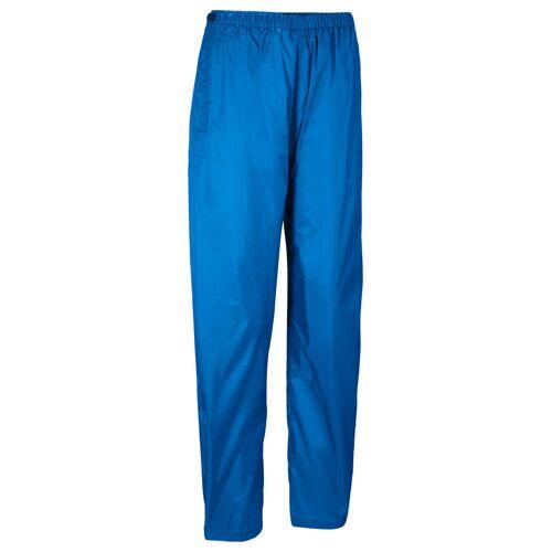 bonprix Spodnie przeciwdeszczowe, długie bonprix lodowy niebieski z nadrukiem - Size: 46;48