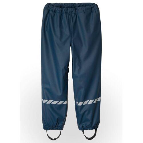 bonprix Spodnie chłopięce przeciwdeszczowe ocieplane bonprix ciemnoniebieski - Size: 80/86
