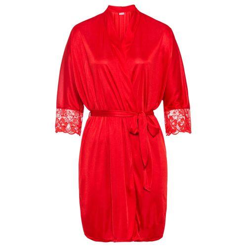 bonprix Szlafrok kimono bonprix czerwony - Size: 32/34;36/38;40/42;44/46;48/50;52/54;56/58