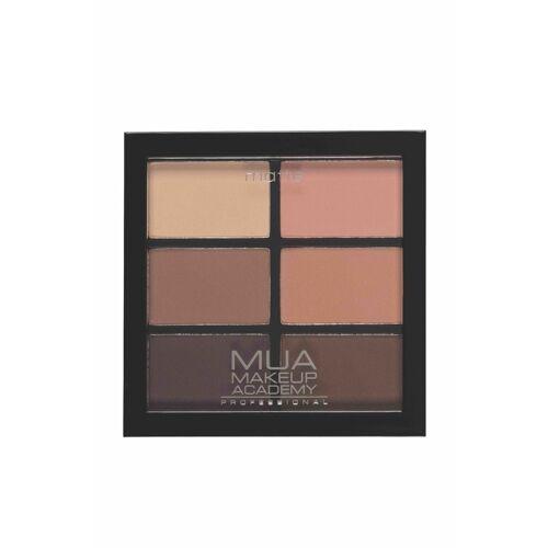 MUA Makeup Academy Palety cieni Paleta cieni do powiek SOFT SUEDES 6.0 g