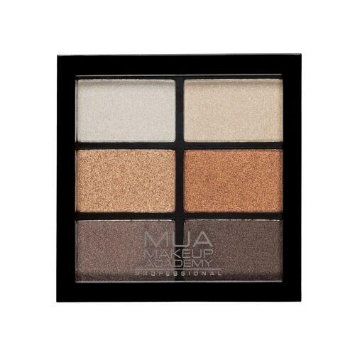 MUA Makeup Academy Palety cieni Paleta cieni do powiek GLAMOUR GOLDS 7.8 g