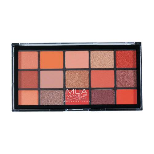 MUA Makeup Academy Palety cieni Paleta cieni do powiek PRO 15 SHADE 12.0 g
