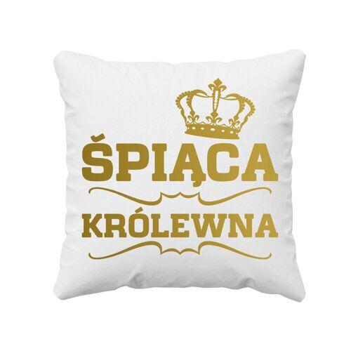 [Koszulkowy.pl] Śpiąca Królewna - poduszka z nadrukiem