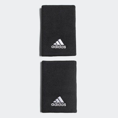 Adidas Opaska na nadgarstek Tennis Large  - Black / White - Unisex - Size: Medium