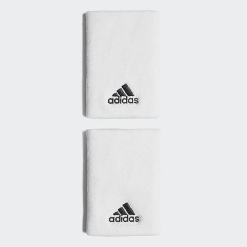 Adidas Opaska na nadgarstek Tennis Large  - White / Black - Unisex - Size: Medium