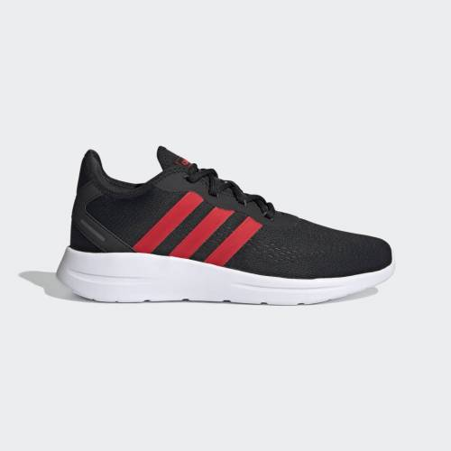 Adidas Lite Racer RBN 2.0 Shoes  - Core Black / Vivid Red / Grey Six - Męskie - Size: 39 1/3,40,40 2/3,41 1/3,42,42 2/3,43 1/3,44,44 2/3,45 1/3,46,46 2/3,47 1/3,48,49 1/3