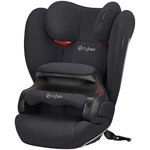 Cybex Silver Pallas B-Fix fotelik samochodowy, do samochodów z i bez ISOFIX, grupa 1/2/3 (9-36 kg), od ok. 9 miesicy do 12 lat, Volcano Black