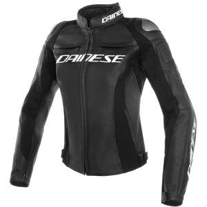 Dainese Racing 3 Perforowane damskie motocyklowe Kurtka skórzana Czarny 38
