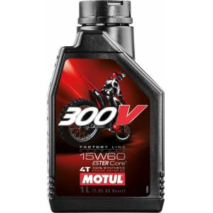 MOTUL 300V 4T Factory Line Off Road 15W60 Silnik oleju 1 litr
