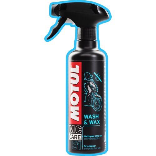 MOTUL MC Care E1 Wash And Wax Pralnia chemiczna Spray 400 ml