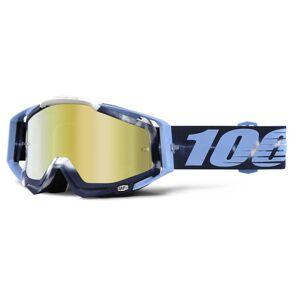 100% Racecraft Extra Motocross gogle Niebieski jeden rozmiar