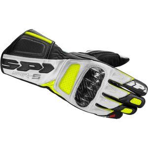 Spidi STR-5 Rękawice Czarny żółty 2XL