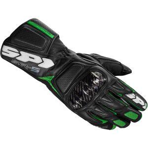 Spidi STR-5 Rękawice Czarny Zielony L