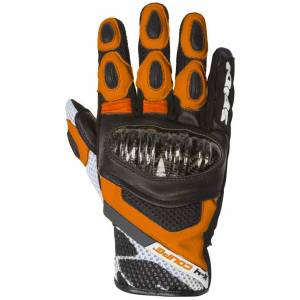 Spidi X-4 Coupé Rękawice Czarny Pomarańczowy M