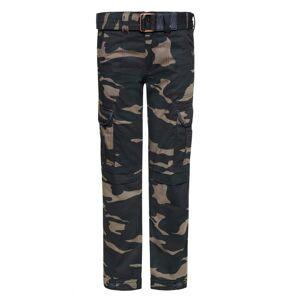 John Doe Cargo Regular XTM Pants Camouflage Kamuflaż spodni  - Size: 38