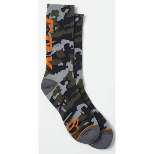 FOX Camo Cushioned Crew Skarpety  - Size: Large