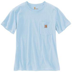 Carhartt Workwear Pocket Podkoszulki na ramiączkach damskie Niebieski XS